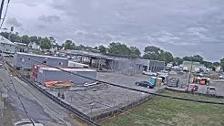 Eastern Shore Public Library Parksley Construction CAM