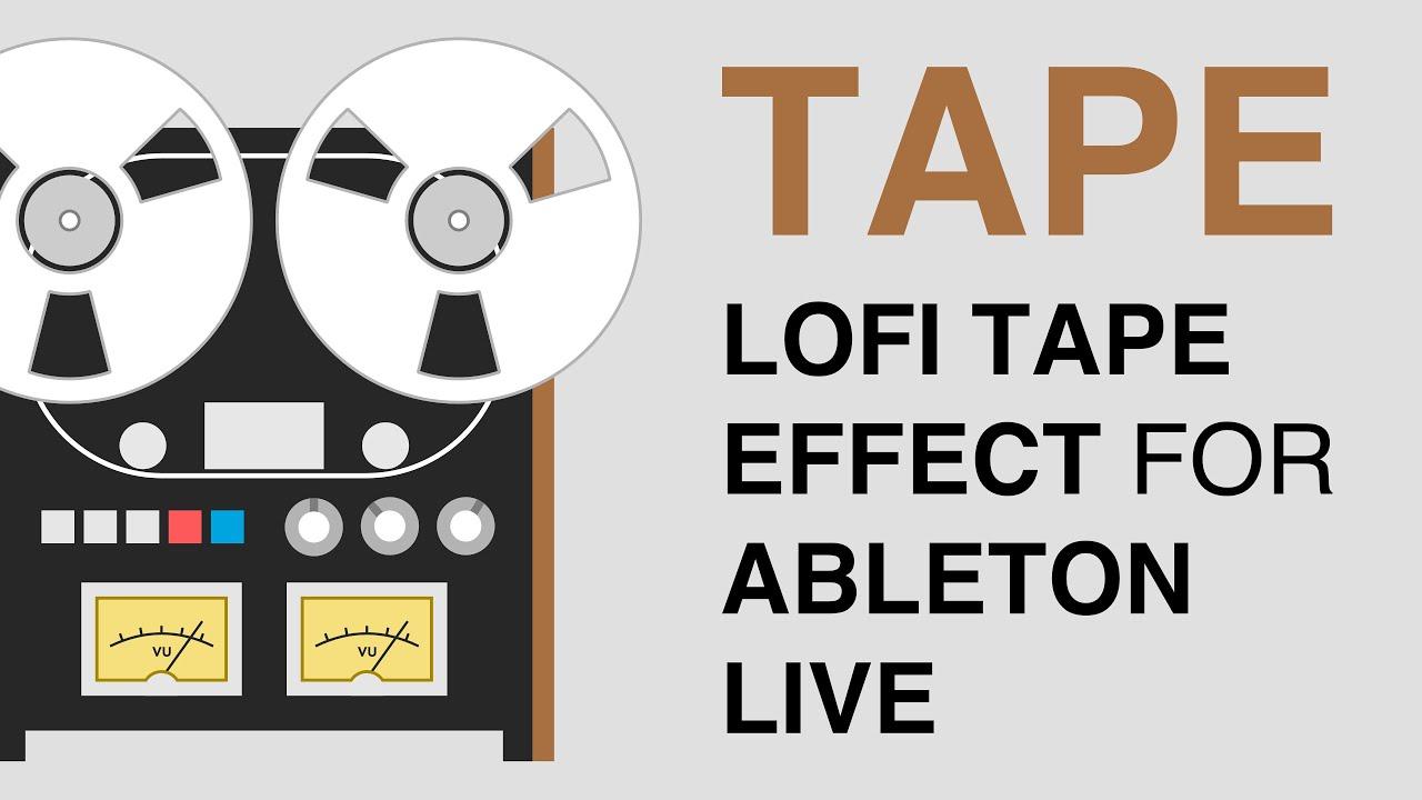 Free Download – 'Analog Tape' Ableton Live Rack | Synthtopia