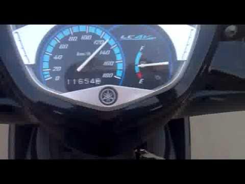 Exciter T135 - 130km/h .flv