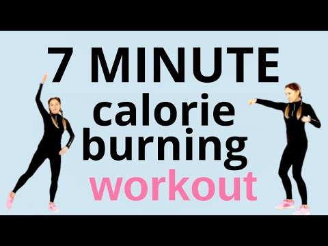 7 MINUTE CALORIE BURNING WORKOUT Full Body Home Workout 7 Day Challenge by Lucy Wyndham-Read