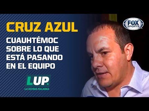"""Cuauhtémoc: """"Cruz Azul ha invertido mucha lana y no ha pasado nada"""""""