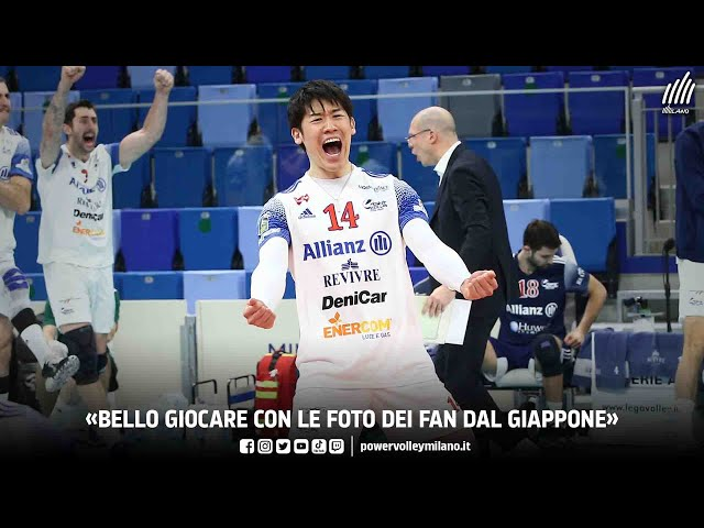 Superlega, intervista post Milano - Verona di Yuki Ishikawa
