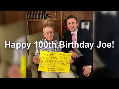 Andi and Kenny  - Daily Do Good: Help This WWII Vet Get 100 Cards For His 100th Birthday