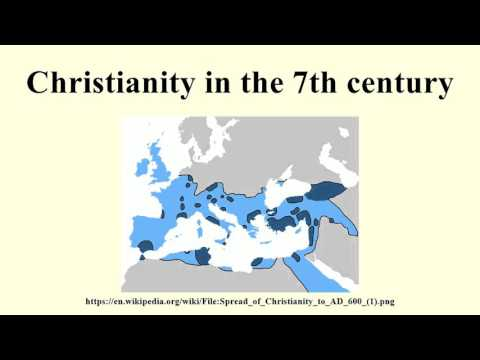 Christianity in the 7th century