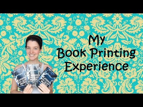 My Book Printing Experience