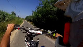 gopro   dirt bike 125 crz qui bug de bon matin sa zone