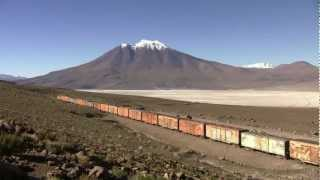 Trains in Chile