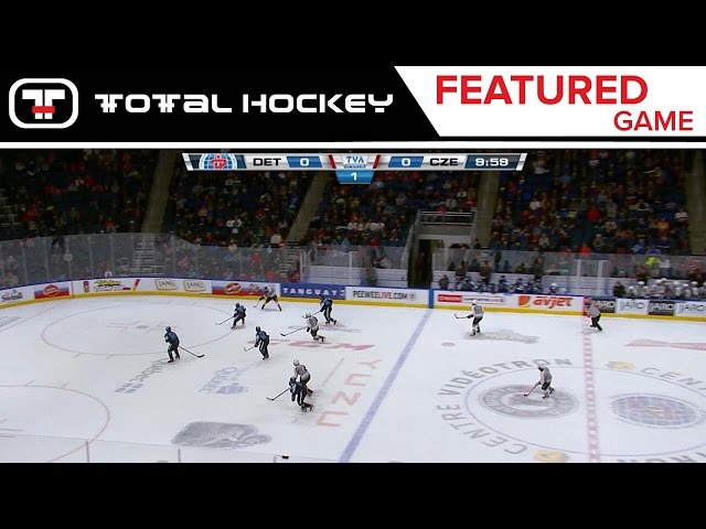 Detroit Belle Tire VS. Czech Knights // AAA Final // Quebec Pee-Wee Tournament