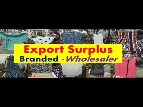 Export Surplus Branded – Wholesaler