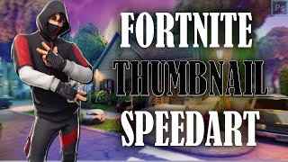 FREE FORTNITE THUMBNAIL TEMPLATE | PHOTOSHOP SPEEDART