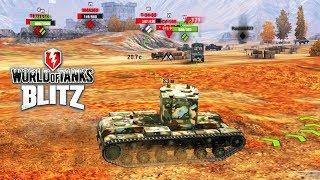 НУБ опять играет в ВОТ БЛИЦ | WOT Blitz a game about tanks | Видео  про танки онлайн