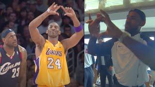 NBA Players Imitating Other Players