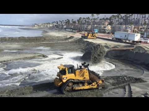 Just In Time For Summer, Oceanside Dredging Operation To Pile More Sand On Beaches