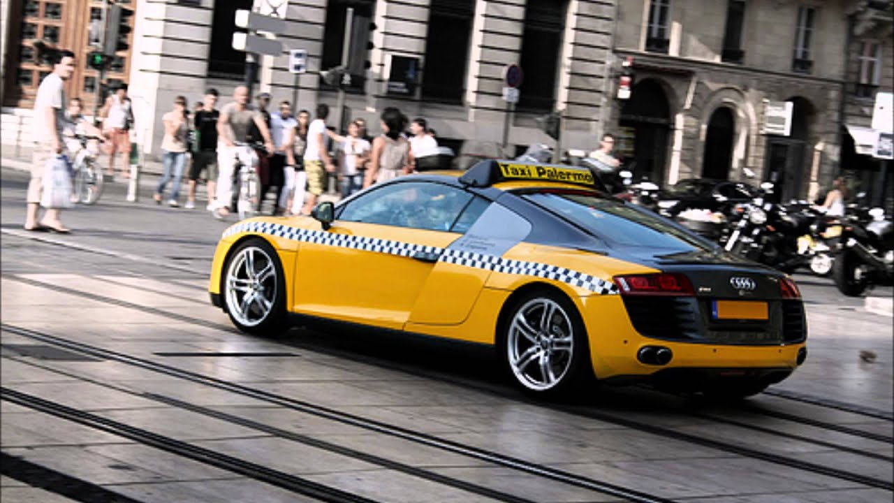 Fastest Taxi In The World Lamborghini Ferrari Youtube
