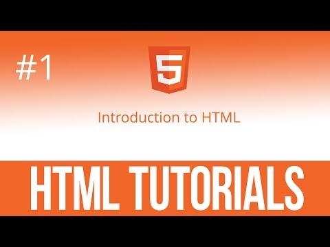 Уроки по HTML #1 Введение в Html, первый файл