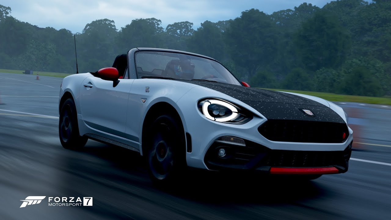 forza motorsport 7 - 2017 fiat 124 spider abarth - top gear test