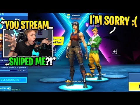 This CODENAME ELF Stream Sniped Me So I ADDED Him Next Game And THIS Happened...