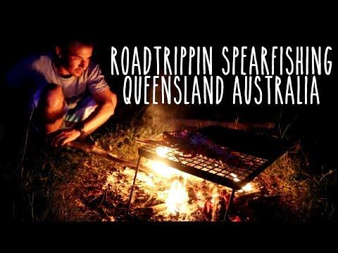 Spearfishing QLD, Australia: Part 2 Crays + Mackerel + Queenfish + Permit Ep.17