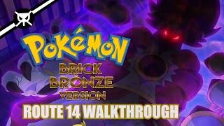 Route 14 Walkthrough!!! - Roblox Pokemon Brick Bronze