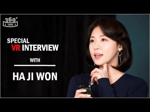 Special VR Interview with HA JI WON - episode 1