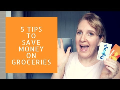 5 Ways To Save Money On Groceries (Australia)