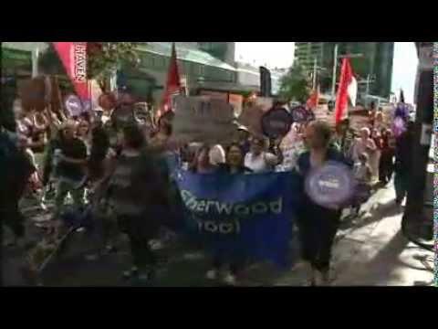 NZEI Auckland March