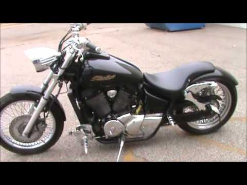 Honda Shadow Spirit VT750 Harley Swap 05 750 Round Two