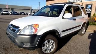 2002 Honda CR-V AWD For Sale