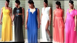 My Fave Summer Maxi Dresses