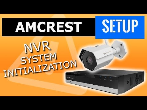 amcrest-nvr-initialization.-security-camera-network-video-recorder-nvr-cctv,-add-analog-or-ip-camera