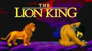 The Lion King SEGA Walkthrough (No Death, Hard Mode)