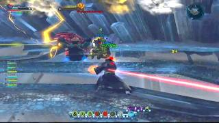 DCUO: Italian Heroes - Fortress Of Solitude 3 (Nature DPS P.O.V.)