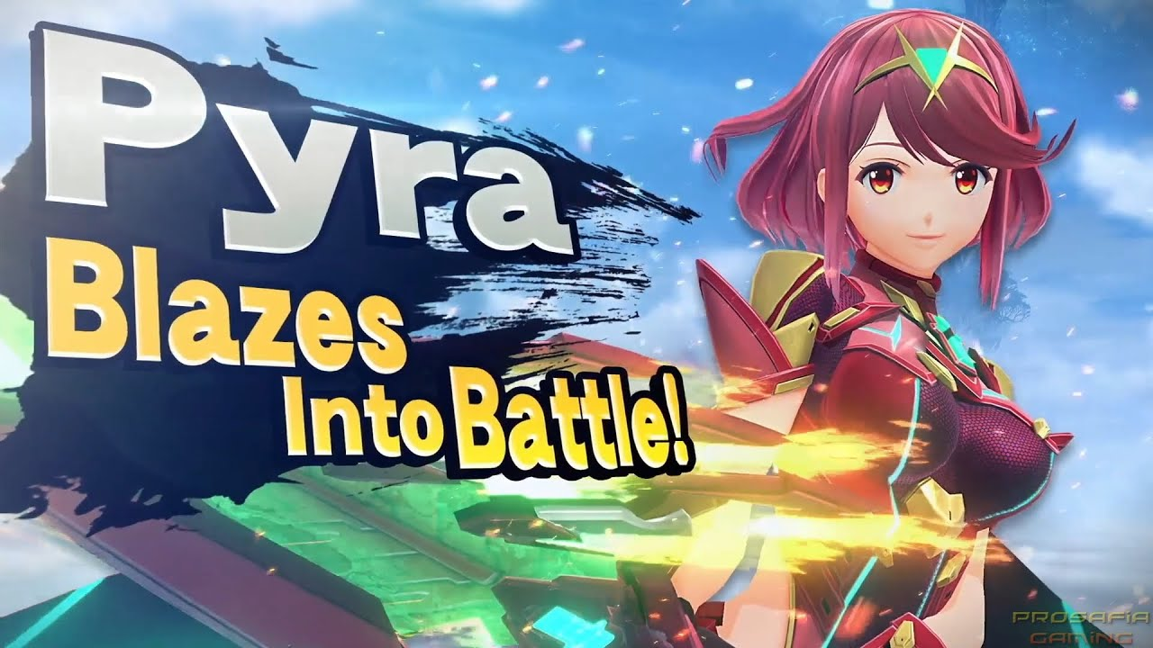 Everything we know about the Mythra and Pyra in 'Smash Ultimate'