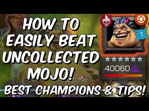 How To Easily Beat Uncollected Mojo - Best Champions & Tips! - Marvel Contest of Champions