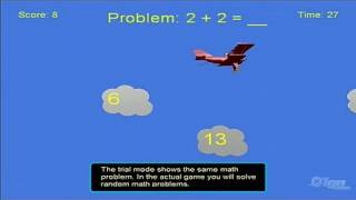 Math Aerobat  Xbox Live Gameplay - Flying High