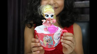 NEW: Itty Bitty Prettys Little Teacup Doll From Zuru Toys (Unboxing A 6 Year Old's Review)