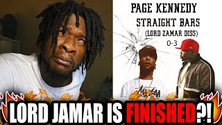 New Lord Jamar Diss?! Page Kennedy - Straight Bars (REACTION!)