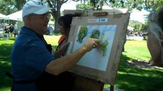 John Partridge Demonstration Painting Landmarks 2011 Part 2