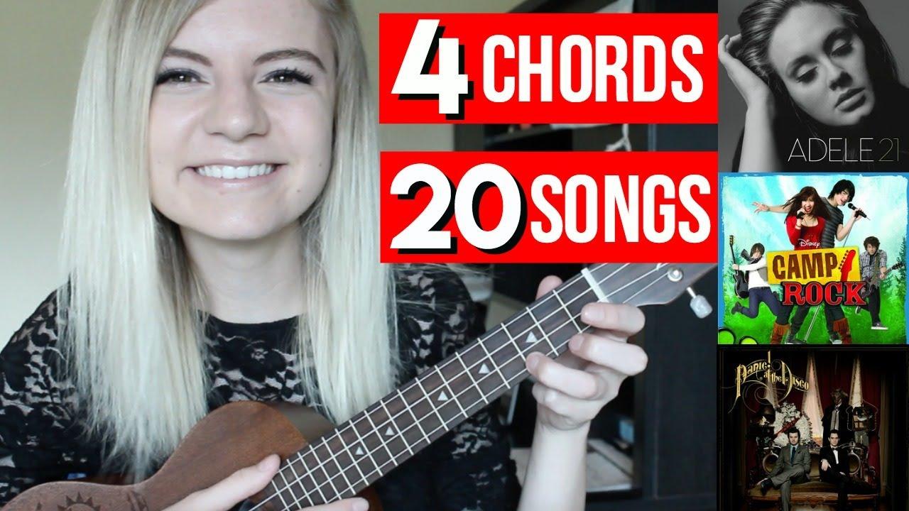 4 chords 20 songs on ukulele youtube 4 chords 20 songs on ukulele hexwebz Gallery