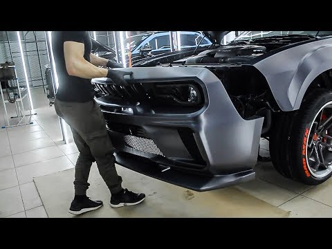 BodyKit Dodge MADMAX For Dodge Challenger 2008-2019