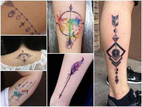 50 Cute Arrow Tattoo Designs Ideas