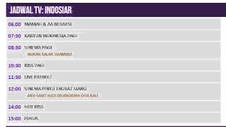 Video Jadwal TV 12 Juni 2014 INDOSIAR download MP3, 3GP, MP4, WEBM, AVI, FLV Maret 2018
