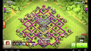 CLASH OF CLANS - ATAQUE GOWIPE CV8
