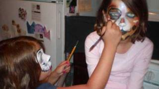 Summer of 2009 Face Painting | Oddzin Ends | Michigan Face Painters
