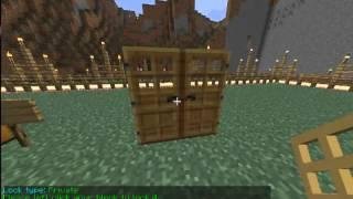 Видео-урок по Minecraft: Приват предметов и снятие привата