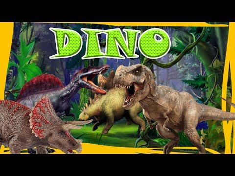 Dinosaurs | Learn Dinosaur Names For Kids | Learn Dinosaur Facts |  Educational Video