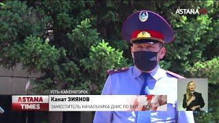 Телефон в лотках с клубникой пытались пронести в колонию Усть-Каменогорска