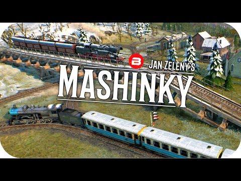MASHINKY Gameplay - TRANSCONTINENTAL LINE Part 1 - Tycoon Trains Simulator/Railroad Tycoon #6