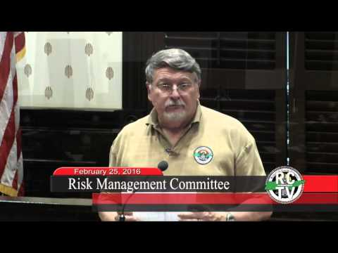 Risk Management Committee - February 25, 2016