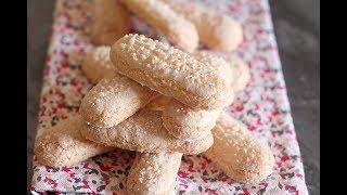 Biscuits à la cuillère / boudoirs legers et faciles !